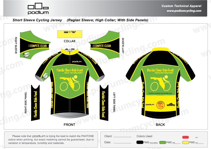 FCRF Jersey by Podium Custom Appearl